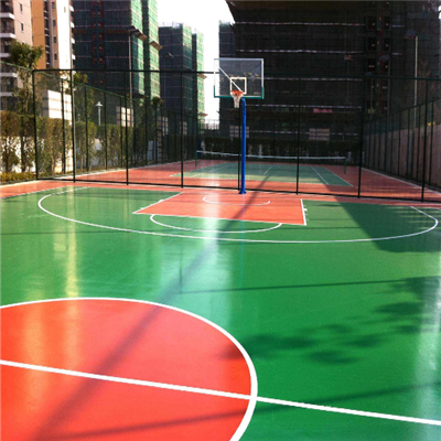 貴陽籃球場材料