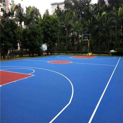 貴州籃球場材料廠家