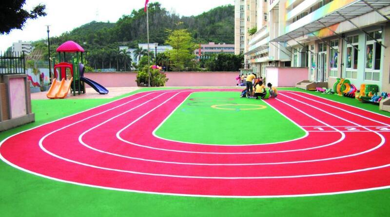 贵州全塑型塑胶跑道