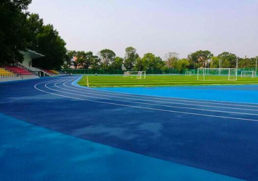 广州自结纹塑胶跑道