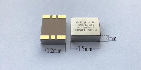 微型贴片晶体滤波器