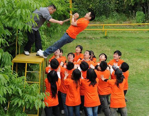 团队凝聚力拓展课程