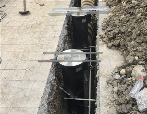自動升降柱安裝施工