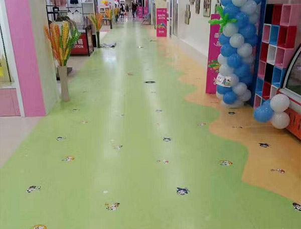 成都PVC片材地板