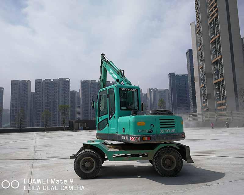 轮式挖机租赁