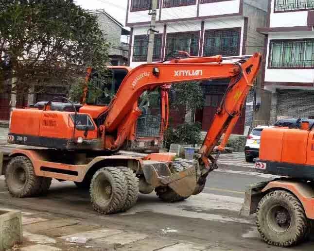 贵州轮式挖掘机租赁