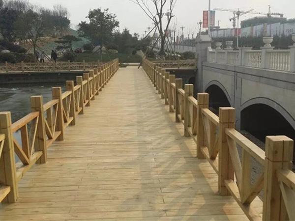 贵阳景观木桥