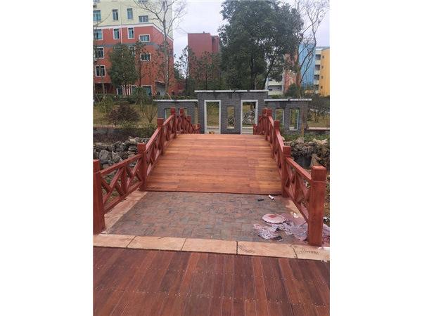 景观小木桥