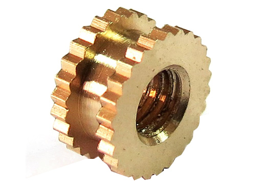 镶件铜螺母