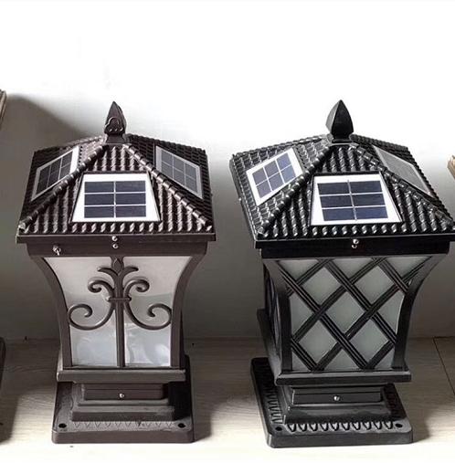 太阳能门柱灯