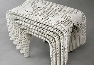 座椅镂空艺术展示