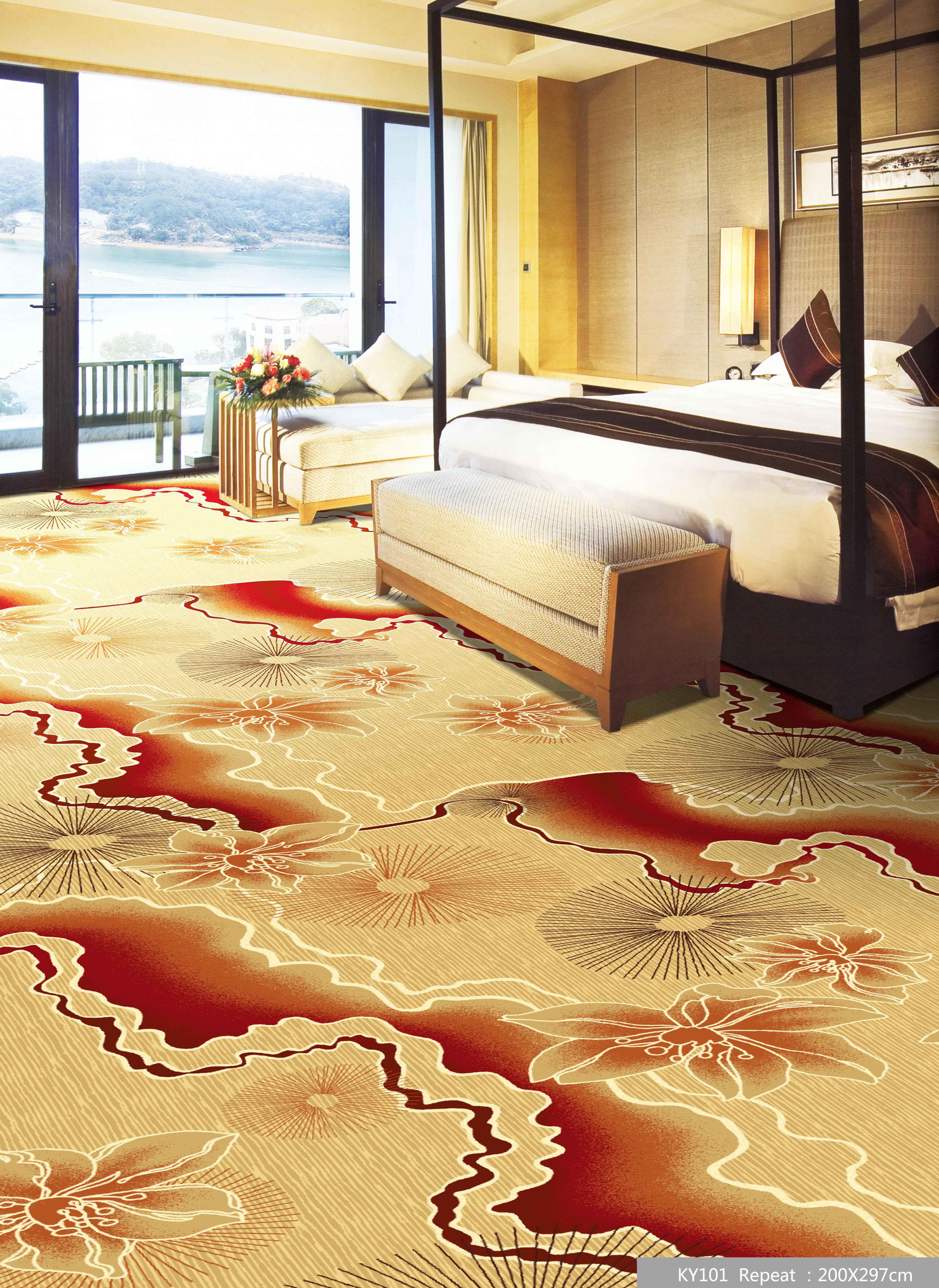 南京工程地毯照片