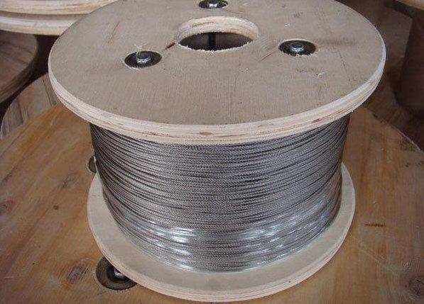 防锈热镀锌钢丝绳