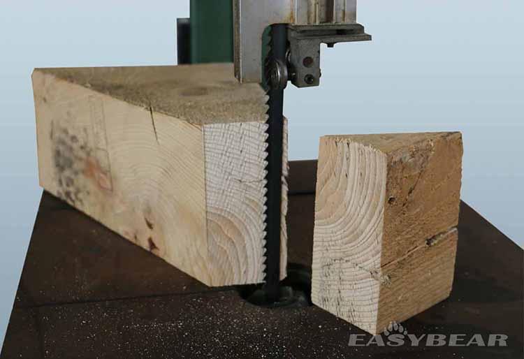 木工带锯床