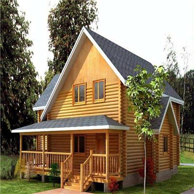 防腐木别墅价格