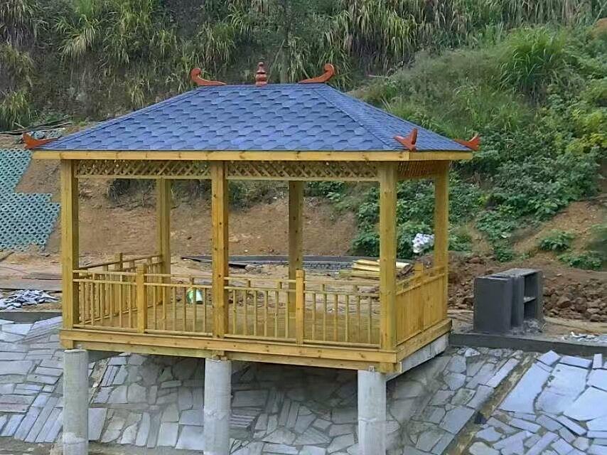 防腐木景观坐凳