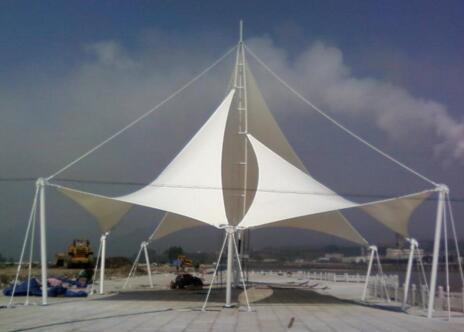 码头膜结构