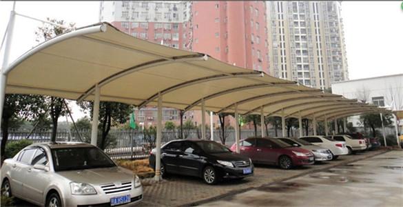 武汉车棚膜结构
