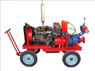 移动式柴油机消防泵