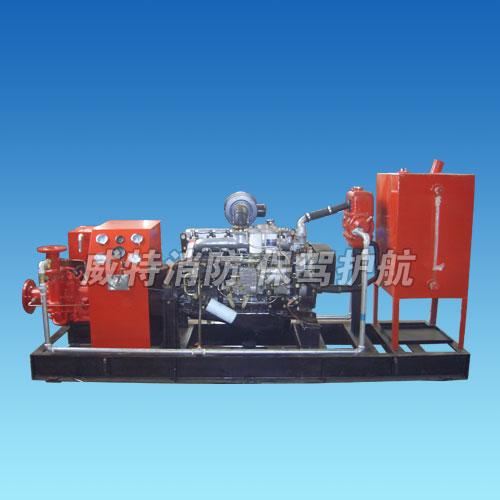 全自动柴油机消防泵组