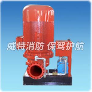 立式自引水电动机消防泵组