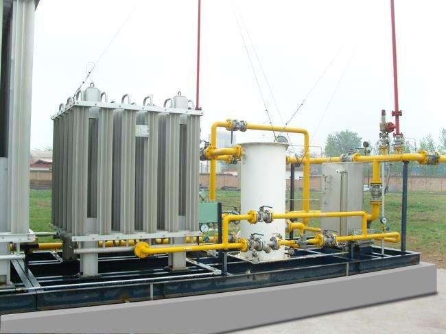 LNG撬装设备安装