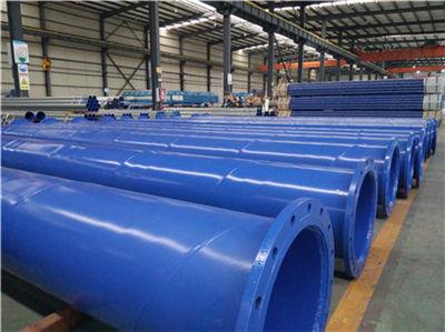 成都给排水涂塑钢管价格