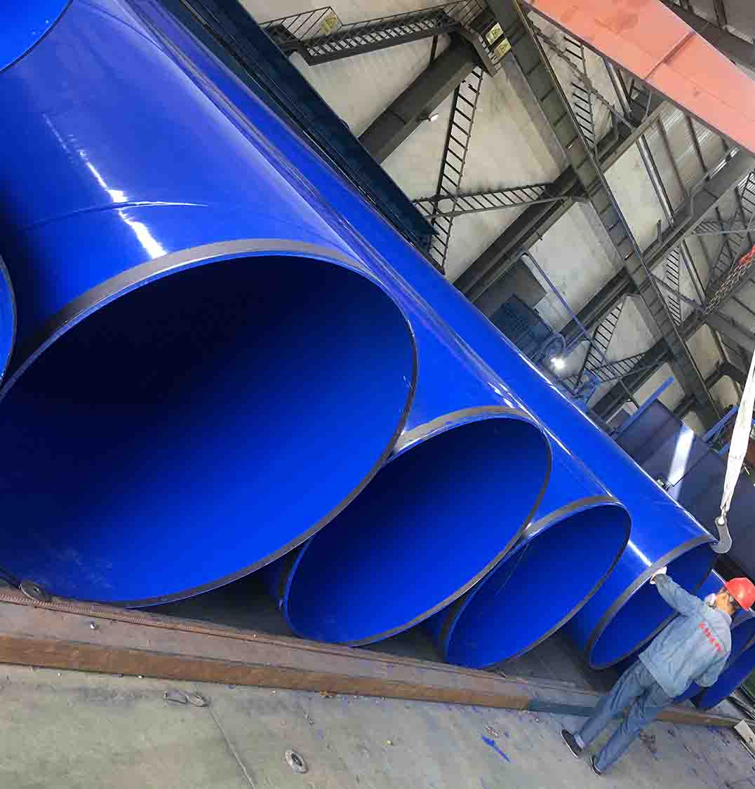 成都大口徑塗塑鋼管