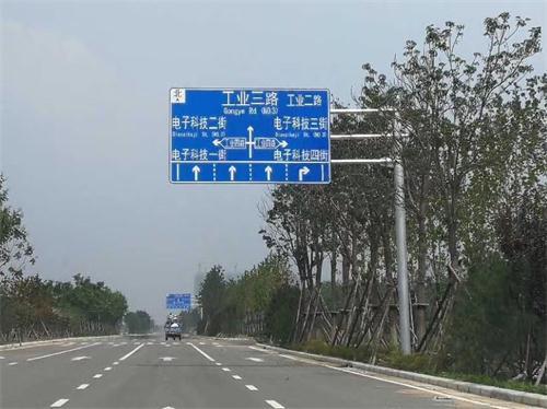 郑州交通标牌