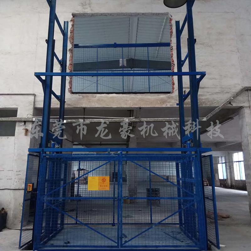 重载型直顶式升降机