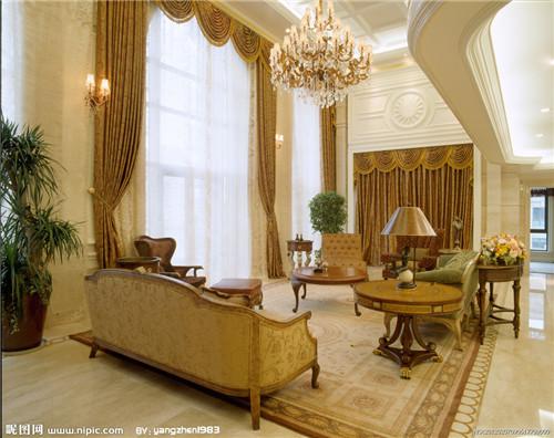 成都别墅高窗窗帘安装
