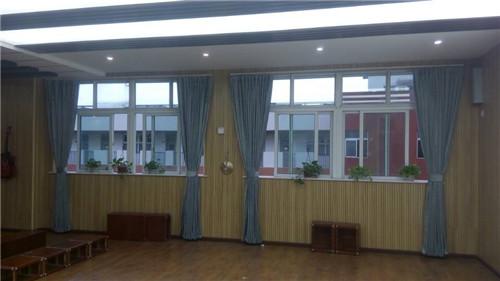 成都学校教室窗帘安装