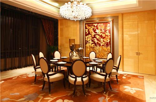 成都酒店餐厅窗帘安装