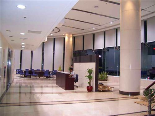 四川办公楼大厅窗帘