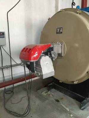 天然气燃烧机蒸气锅炉