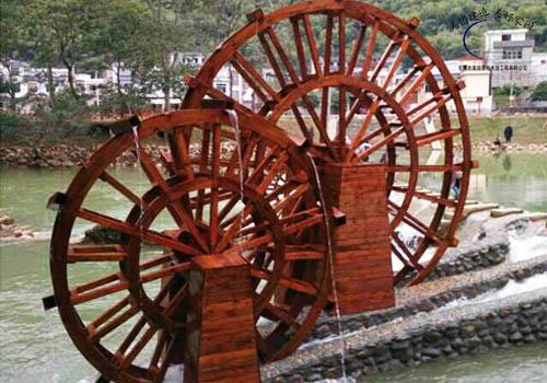 东莞防腐木水车