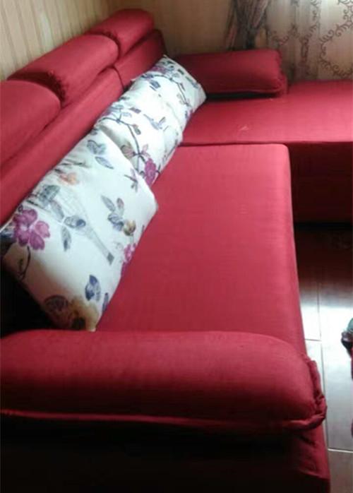 武汉布艺沙发套定制