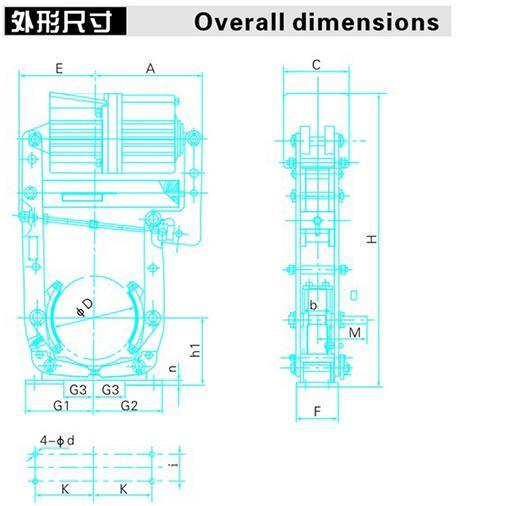YWL系列电力液压鼓式制动器