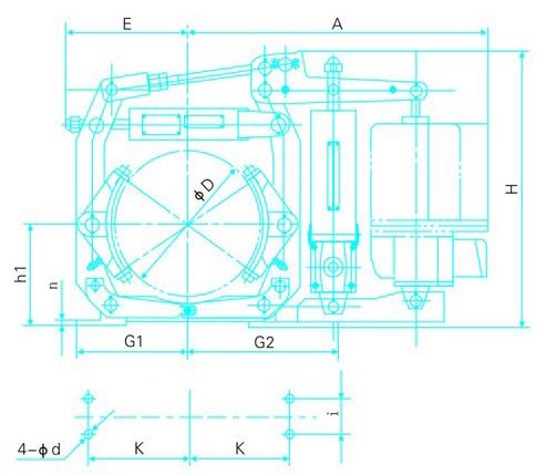 EYWZ系列电力液压鼓式制动器