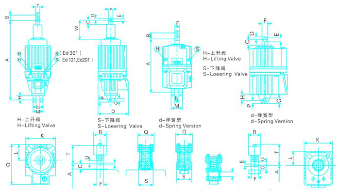 Ed系列电力液压推动器