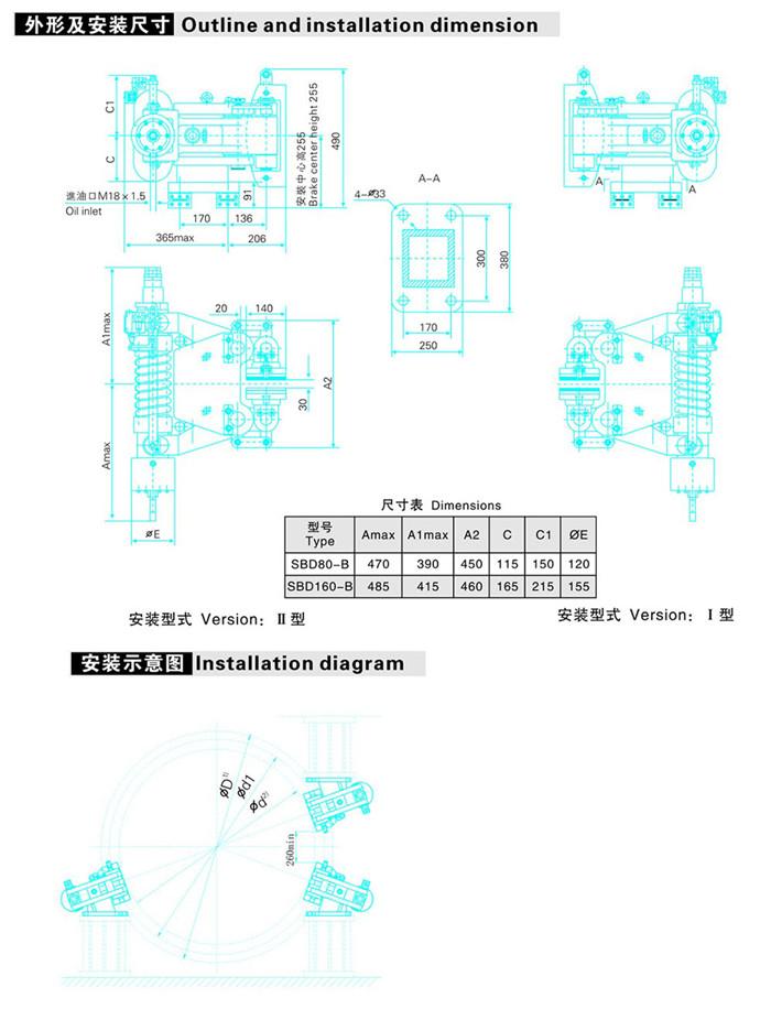 SBD-B系列安全制动器
