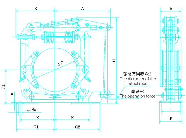 TWZ(B)系列常开操纵鼓式制动器