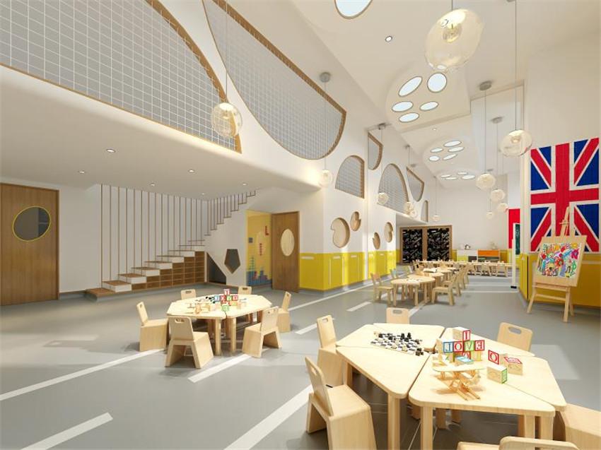 经典公装案例 | 国际幼儿园应该怎么设计装修?
