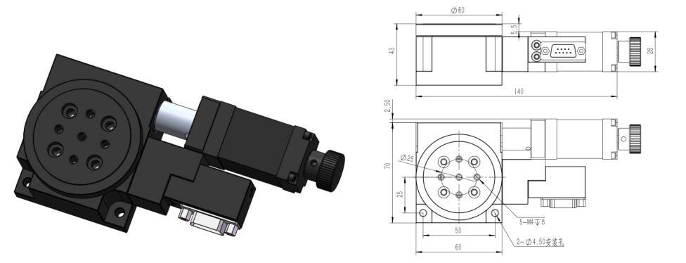 HR60-43T 电动对位平台