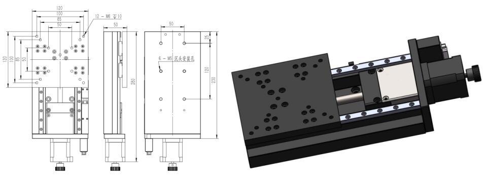 电动对位平台-HPX-100L