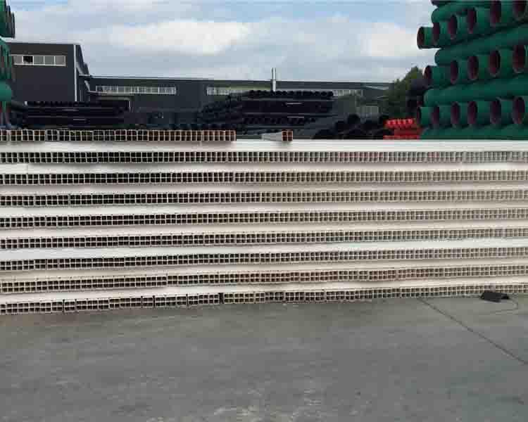 贵州PVC-U九孔格栅管