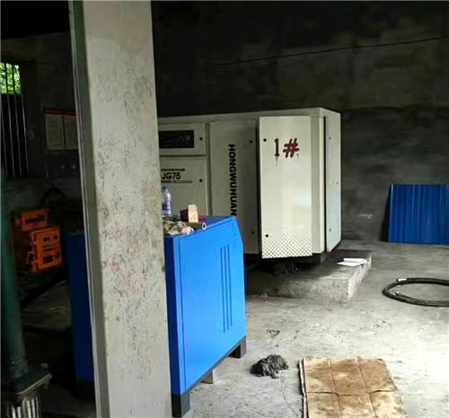 成都空压机余热回收工程