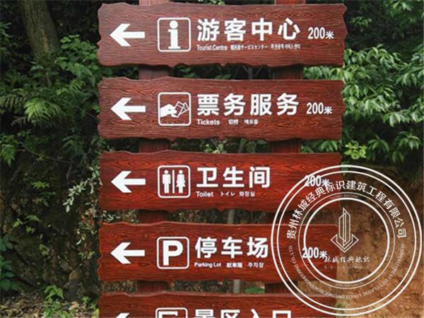 景区指引牌