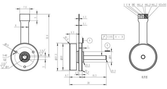1603云台电机