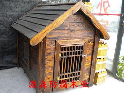 石家庄防腐木宠物屋
